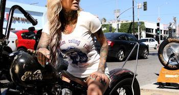 Bernadette Macias Tattoo Model